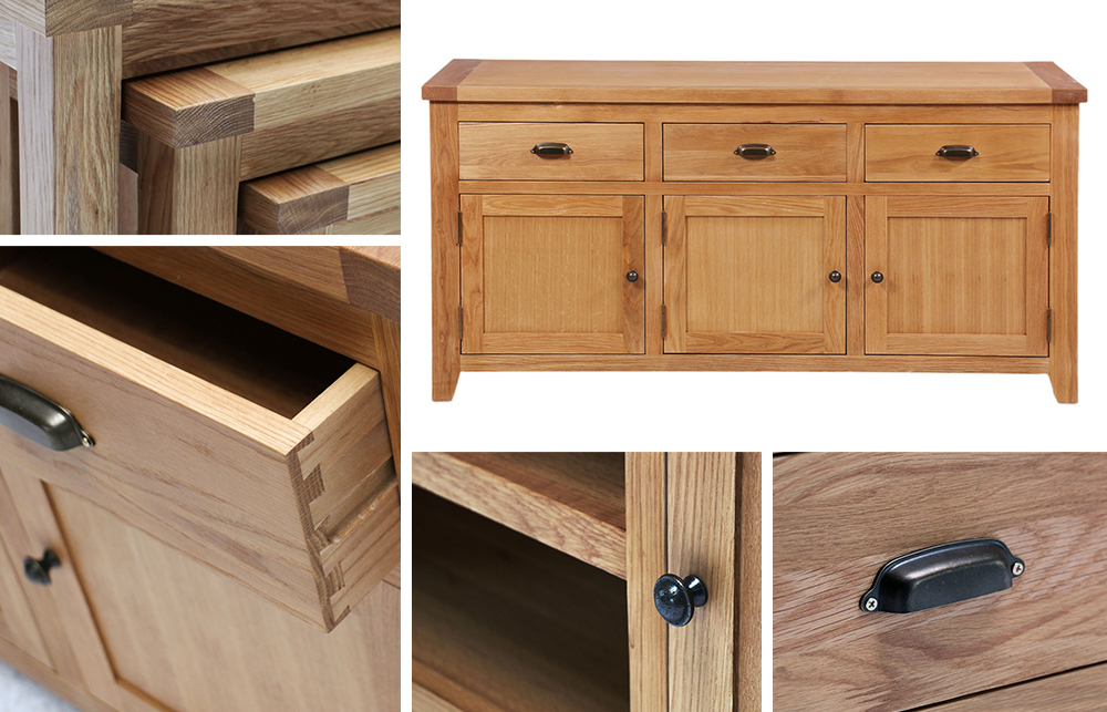 Cotswold Light Oak Range