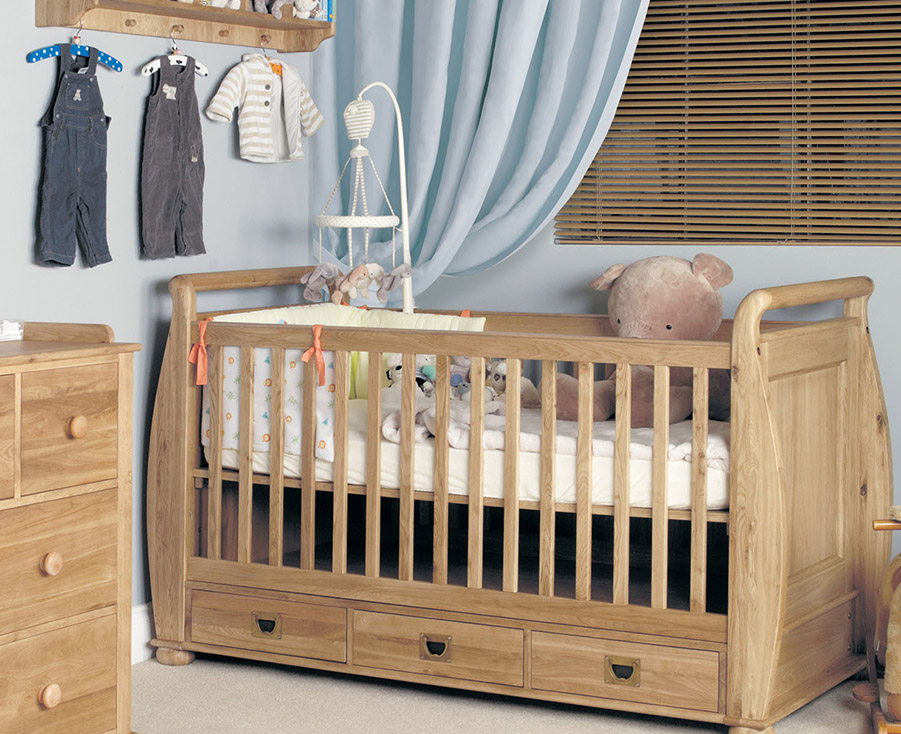 Amelie Oak Children's bedroom furniture
