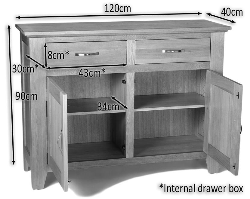 camberley oak 2 door 2 drawer sideboard camberley oak 2 door