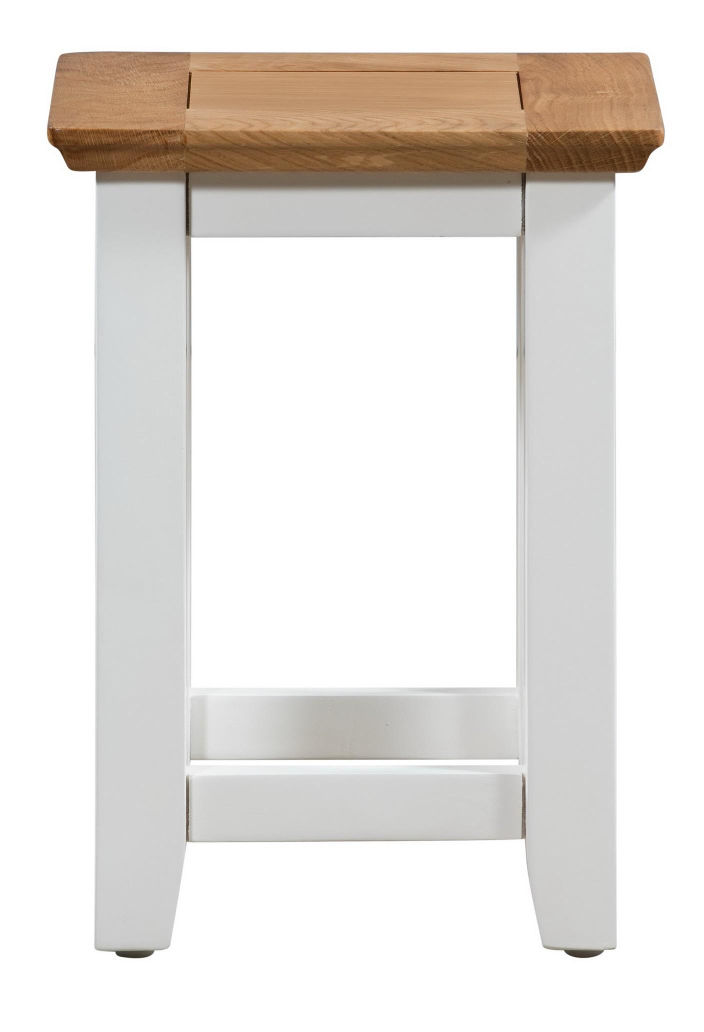 Oak Side Table: Small Solid Oak Side Tables