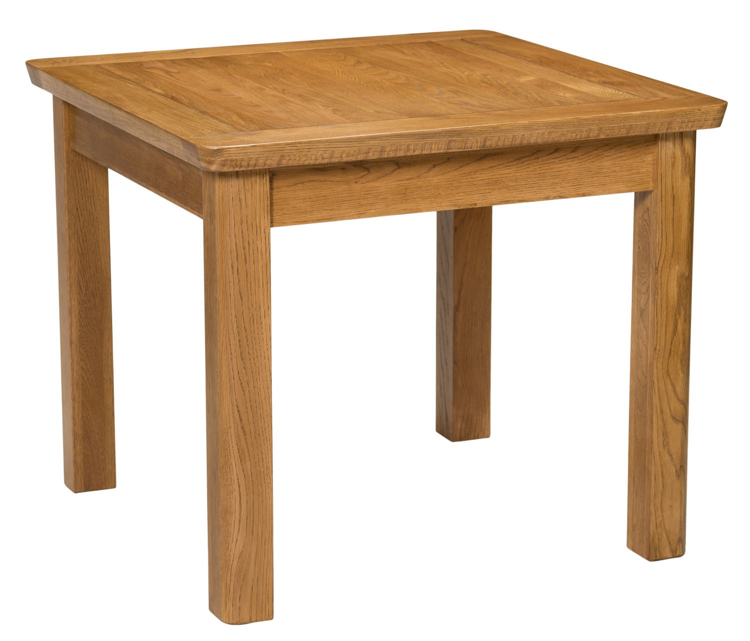 London Dark Oak Small Fixed Table Dining Tables Dining Room Hallowood