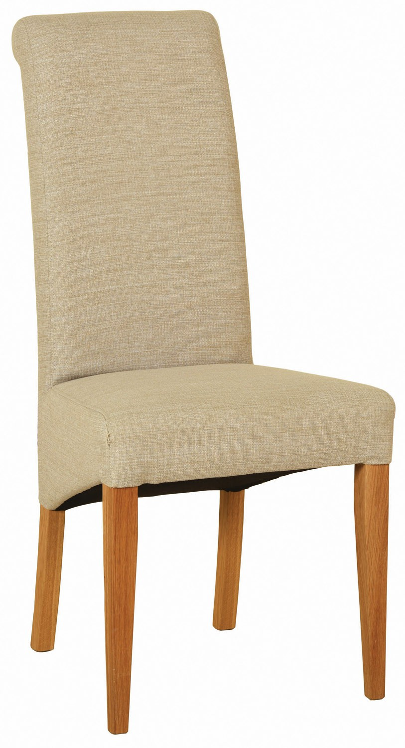 Venice Fabric Chair Beige Dining Chairs Amp Benches