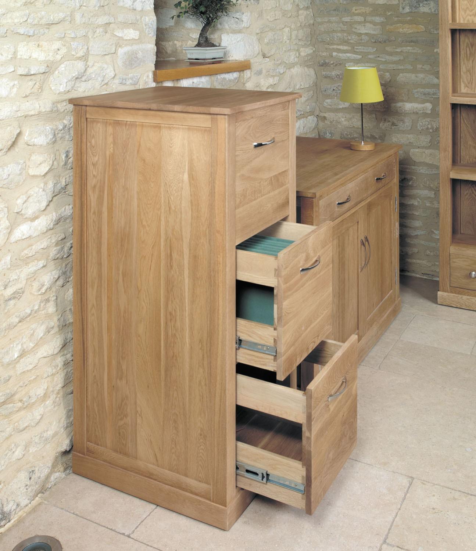 mobel oak 3 drawer filing cabinet