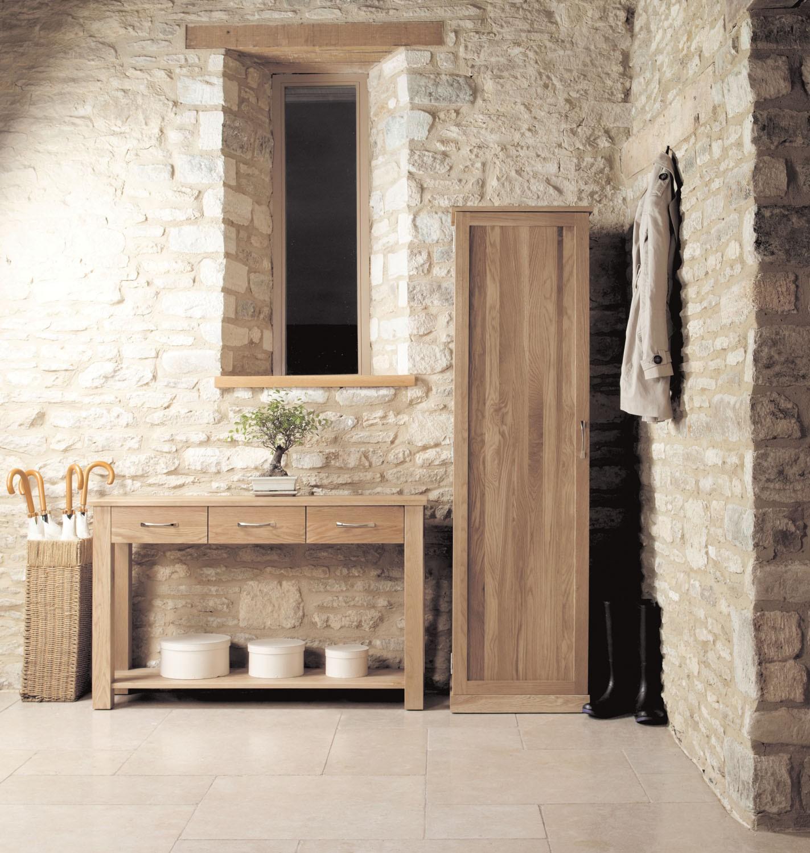 mobel oak console table baumhaus mobel solid oak medium wall mirror