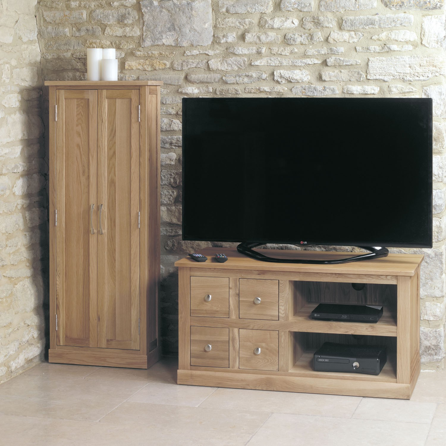 mobel oak oak tv stands and cabinets baumhaus mobel solid oak extra