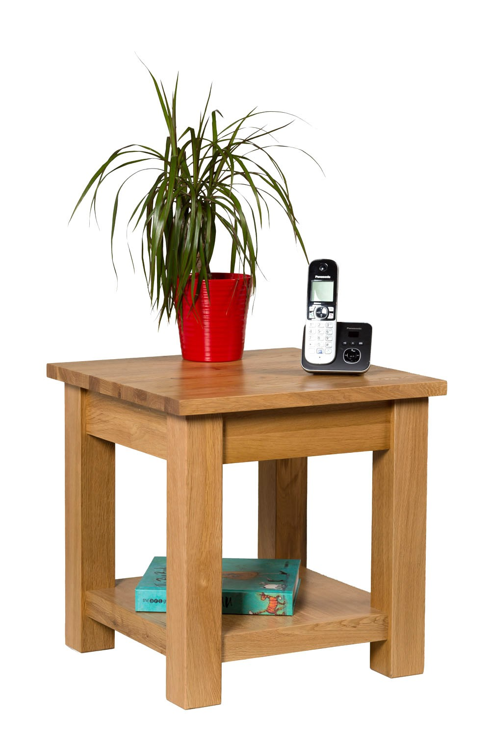 Small oak lamp table complete your home interior hallowood waverly oak lamp table geotapseo Gallery