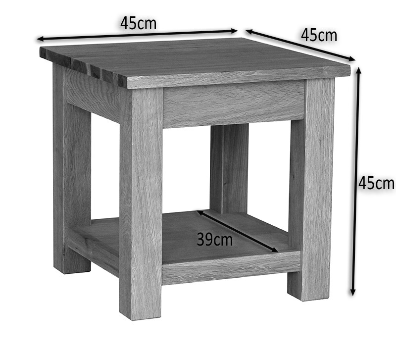 Small oak lamp table complete your home interior hallowood waverly oak lamp table aloadofball Images