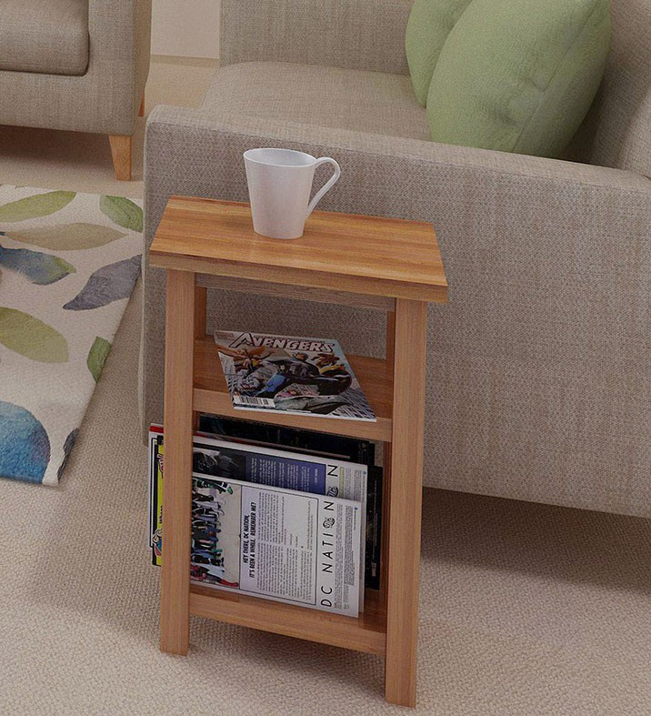 oak magazine rack table solve your clutter issues 17345 | light oak magazine table new waverly wav mag550 ls