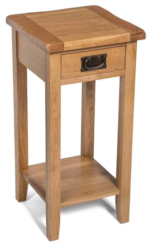 Monchique Oak Medium Lamp Table