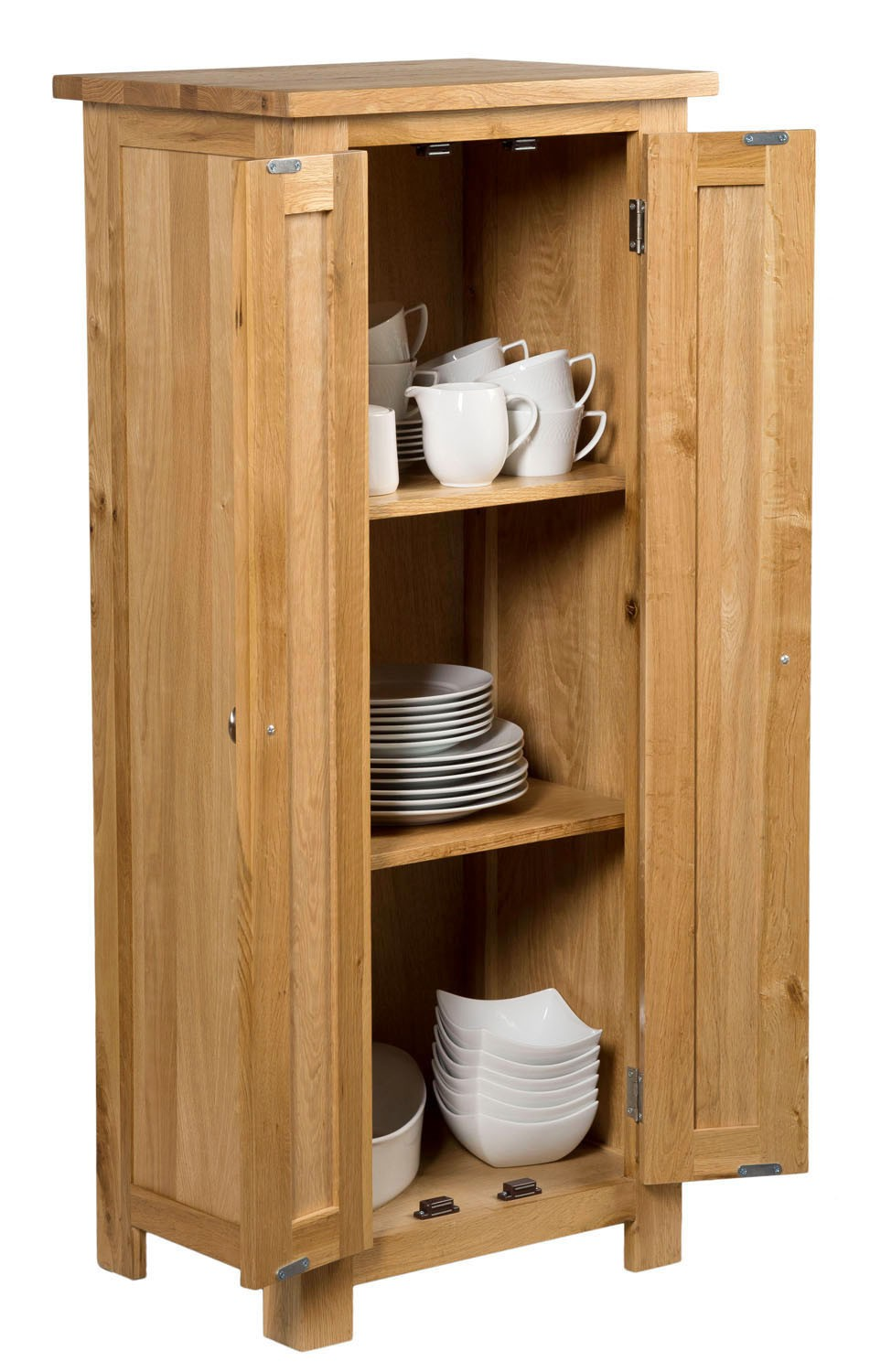 Tall Wood Storage Cabinets