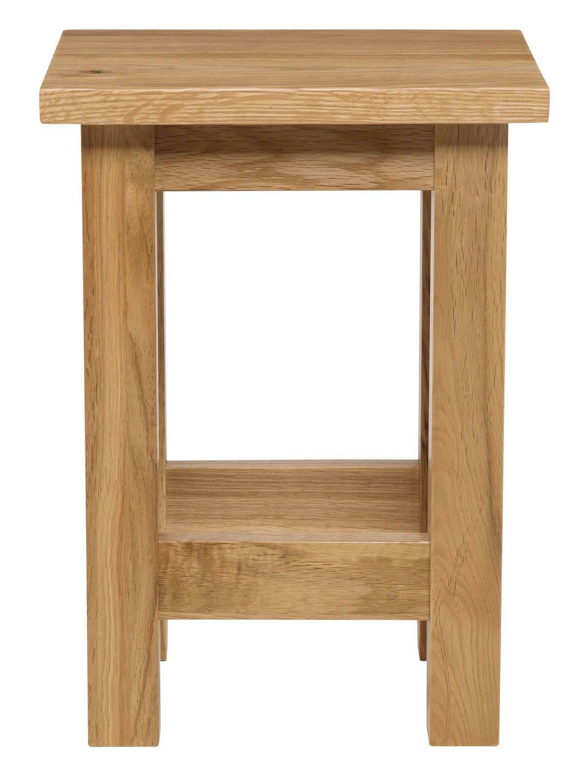 Small solid oak side tables occasional