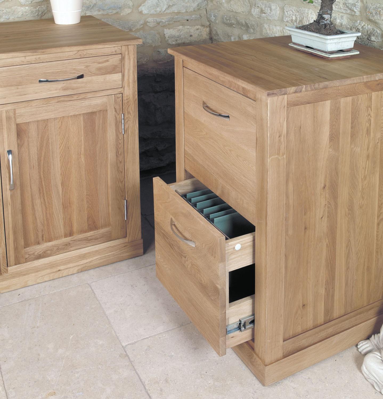 Mobel oak two drawer filing cabinet hallowood for Mobel
