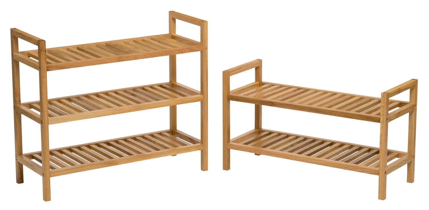 Pine Shoe Rack  Tier