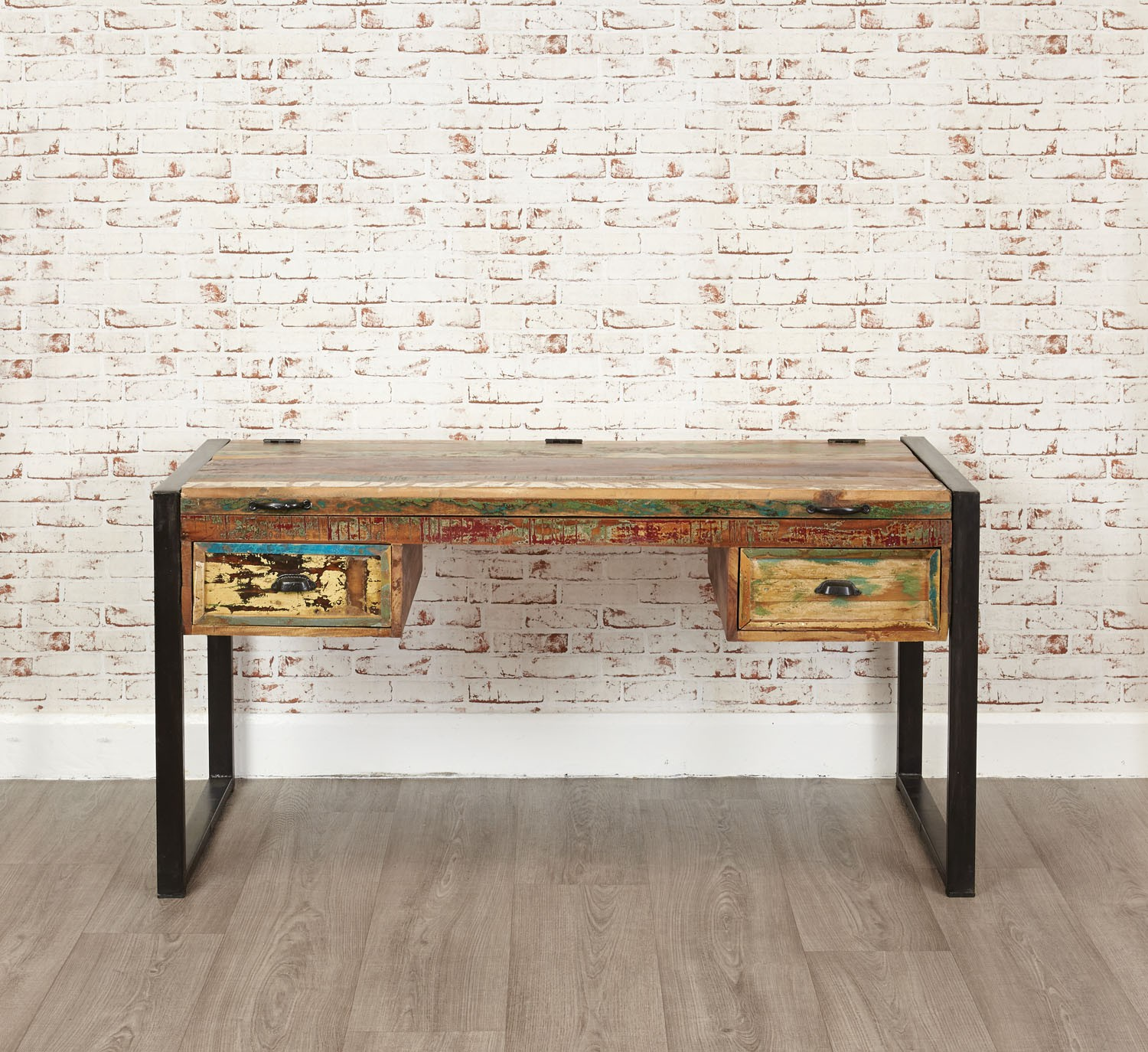 urban il rustic zoom au fullxfull desk distressed chic industrial pipe listing