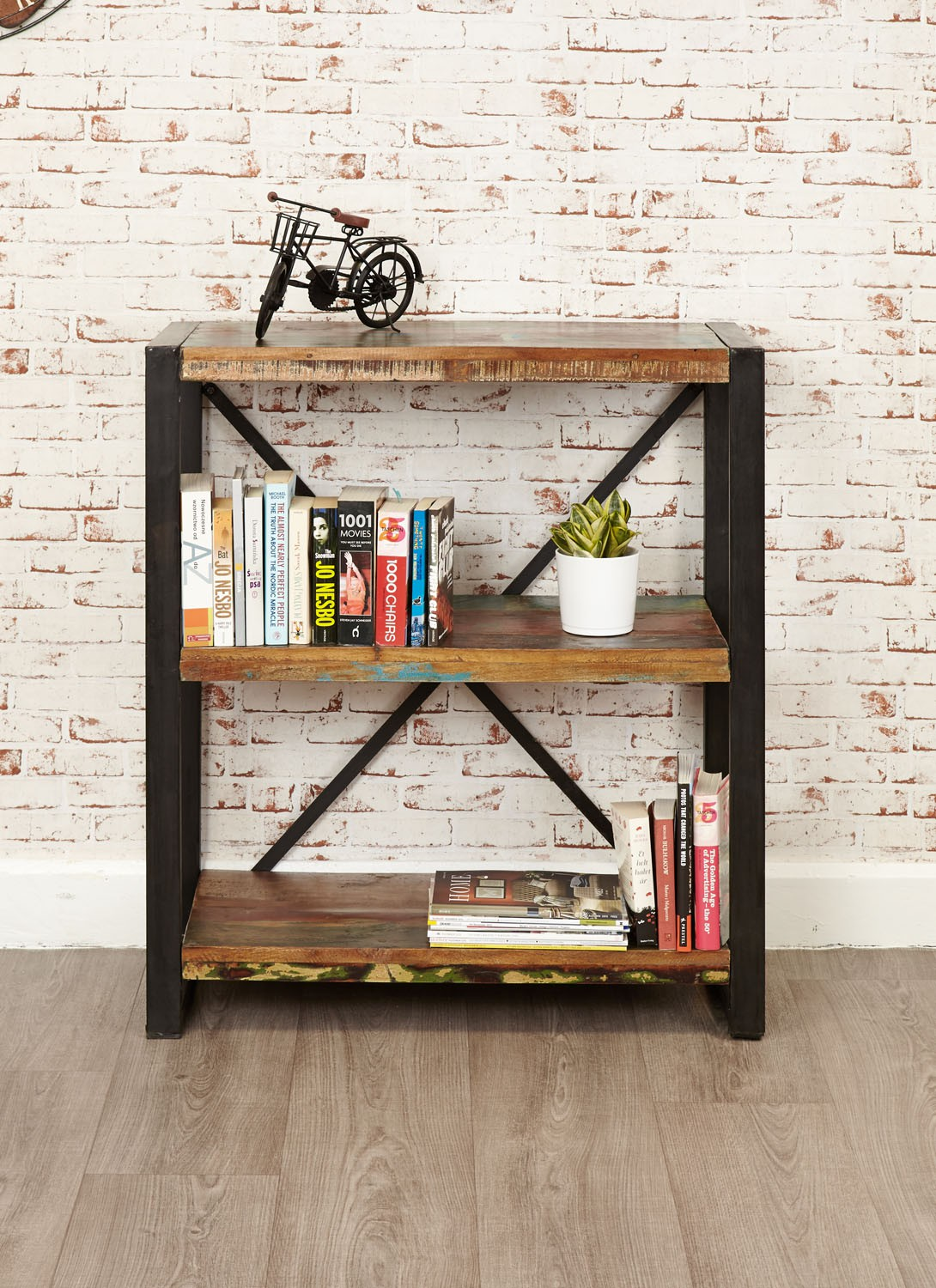 Urban Chic Low Bookcase Bookcases Living Room Hallowood