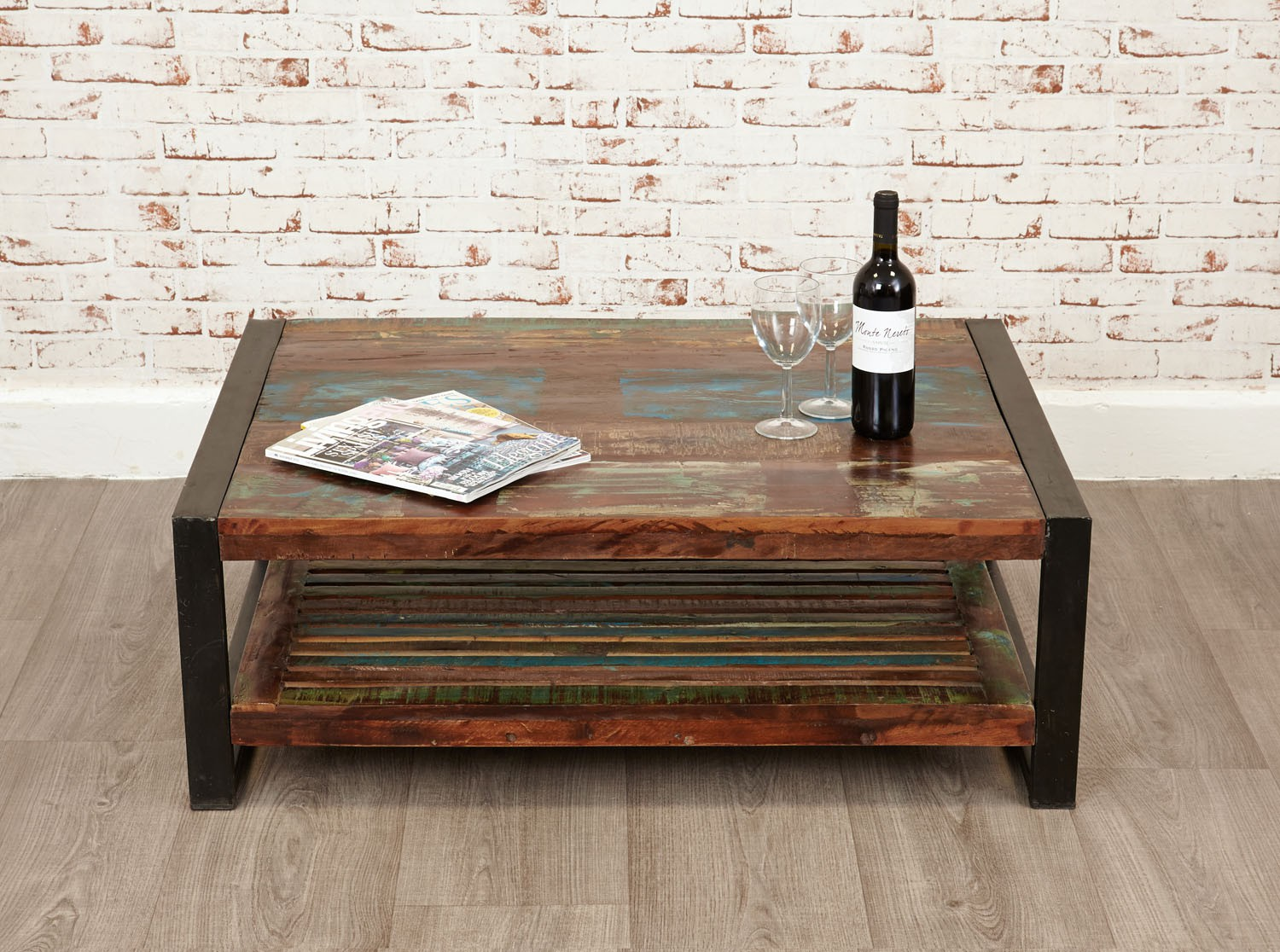 Urban Chic Rectangular Coffee Table Hallowood