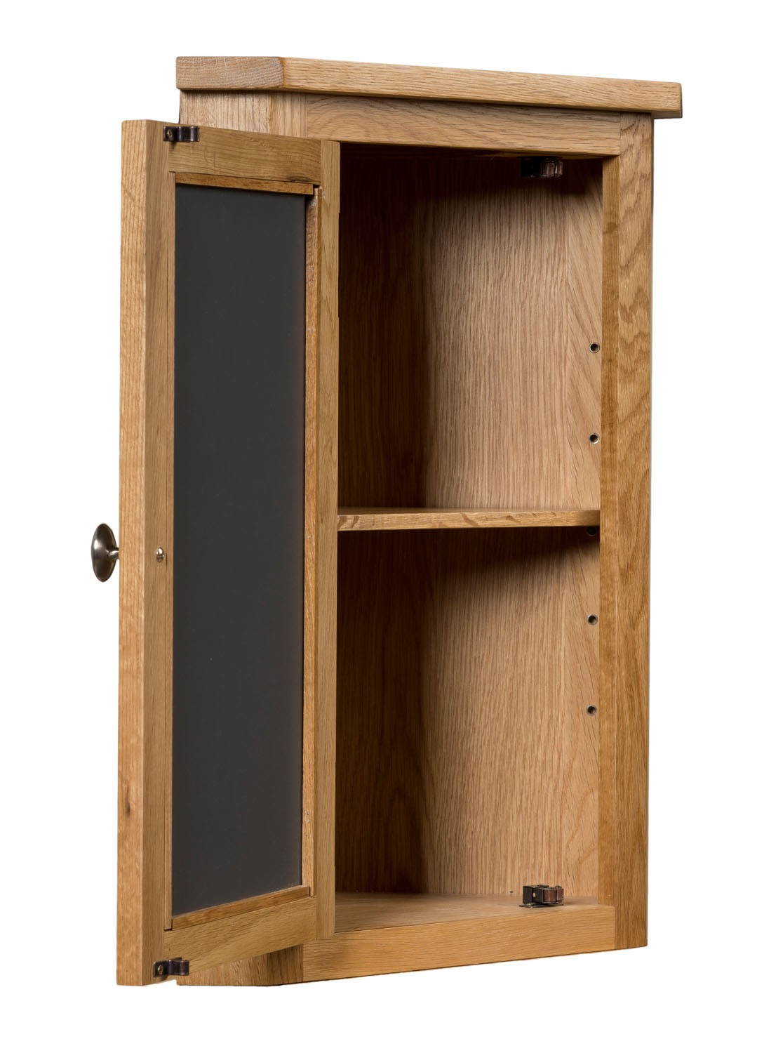 Waverly solid oak small bathroom corner cabinet cupboard for Bathroom armoire cabinets