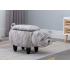 Bulldog Storage Stool