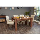 Shiro Walnut 150cm Dining Table (4/6 Seater)