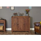 Shiro Walnut Extra Large Shoe Cupboard