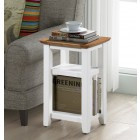 Clifton Oak Painted Magazine Table