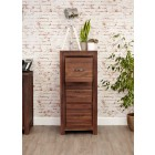 Mayan Walnut 3 Drawer Filing Cabinet