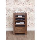 Mayan Walnut Entertainment Ancillaries Storage Unit
