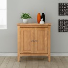 Hereford Oak Small Cupboard