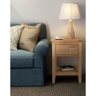 Hereford Oak Lamp Table With Drawer