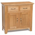 Camberley Oak Small 2 Door 2 Drawer Sideboard