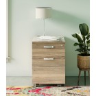 Dudley Two Drawer Filing Cabinet