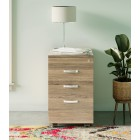 Dudley Three Drawer Filing Cabinet