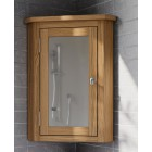 Waverly Oak Bathroom Corner Cabinet