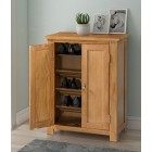 Waverly Oak Shoe Storage Cabinet