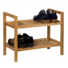 Waverly Oak Narrow 2 Tier Stackable Shoe Rack