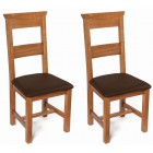 London Oak Dining Chair (Pair)
