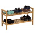Waverly Oak 2 Tier Stackable Shoe Rack