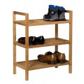 Waverly Oak Narrow 3 Tier Stackable Shoe Rack