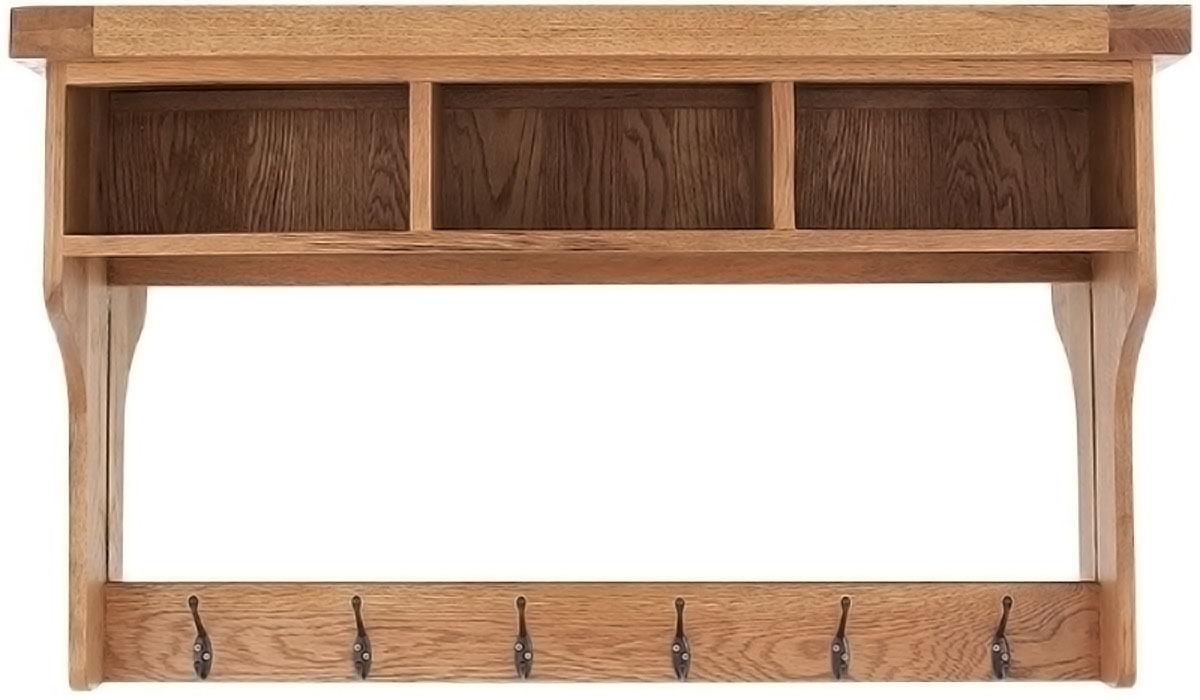 wall coat rack with mirror
