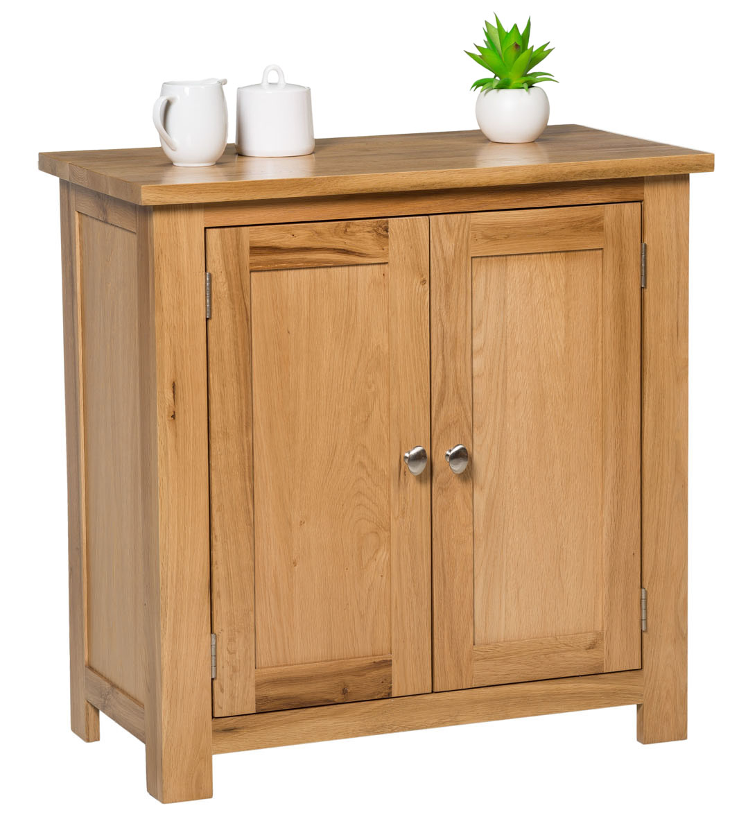 Small oak storage cupboard wooden filing cabinet shoe for Storage in cupboards