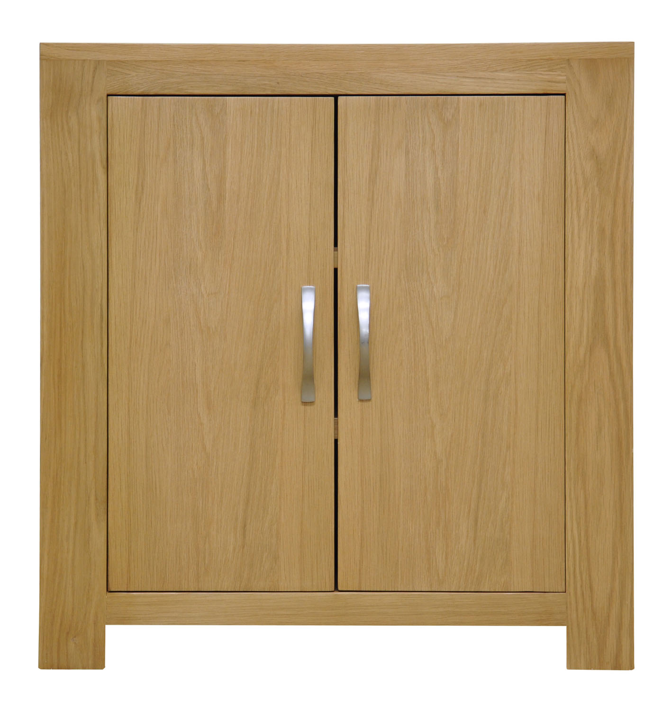 Small oak storage cupboard cabinet shoe organiser for Bathroom cabinets 70cm wide