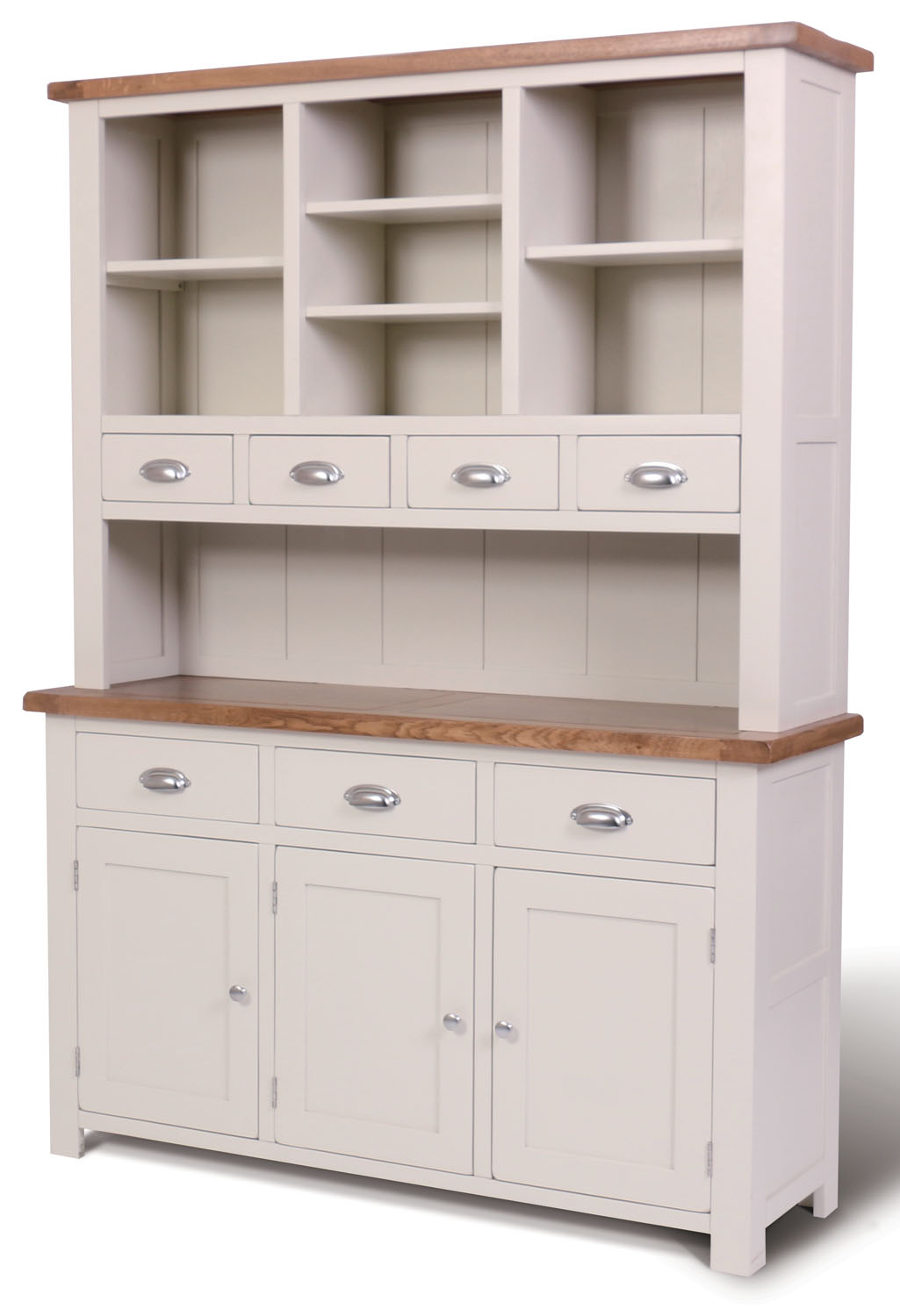 Ascot Painted Large Dresser - Sideboard with Top