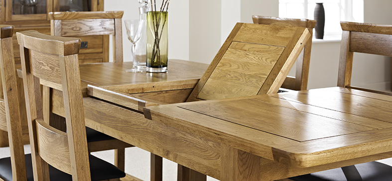 London Oak Table