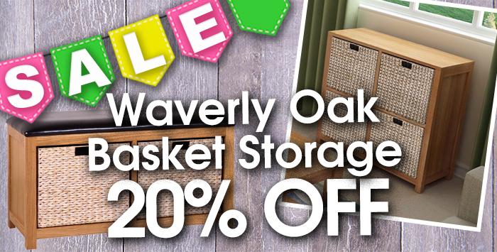 Waverly Oak storage basket