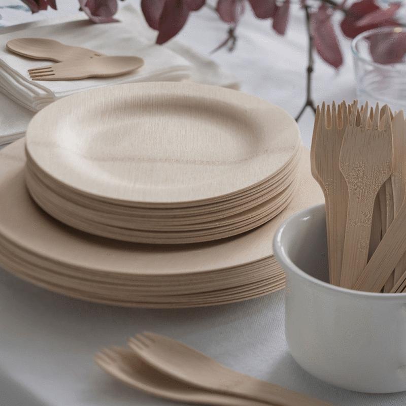 bamboo partyware