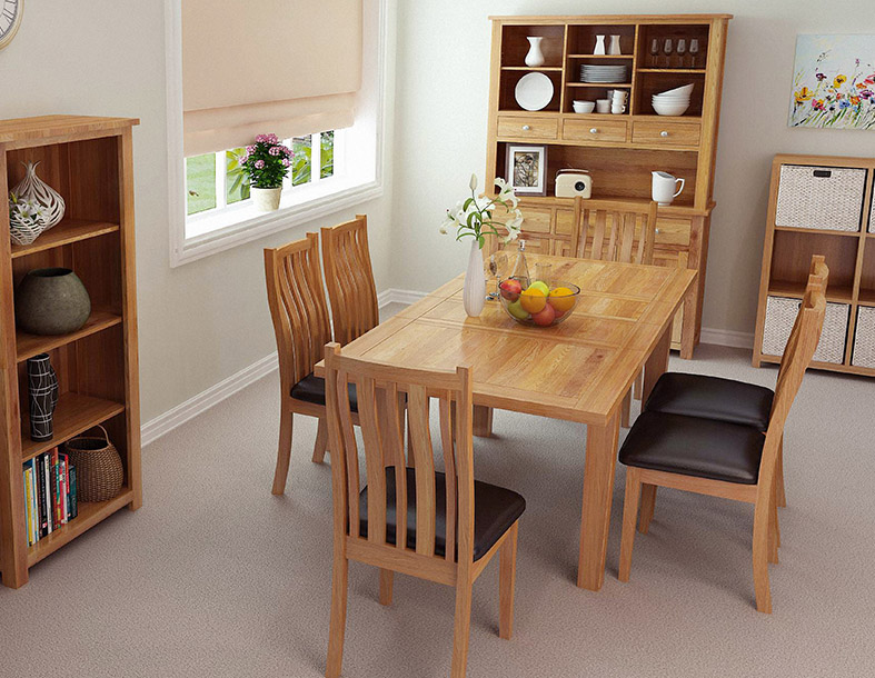 Waverly extending dining table