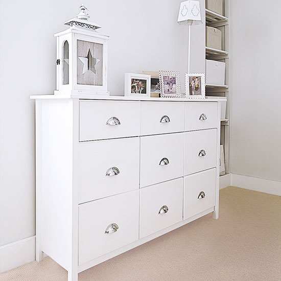 hallway - chest of drawers