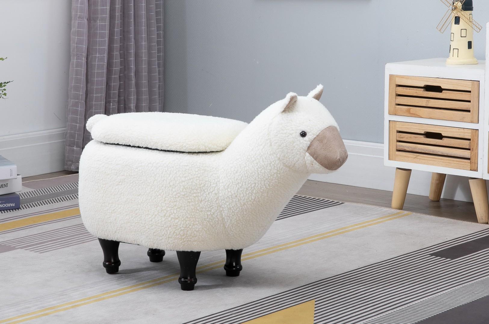 Lama footstool