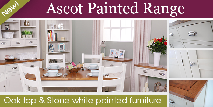 Ascot Stone white painted furniture