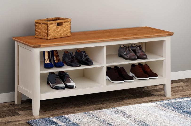 Clifton Shoe Bench